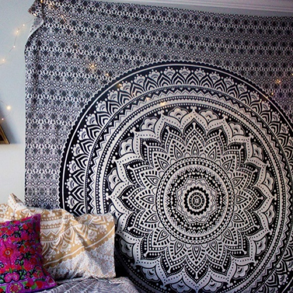 Other - Black and Gray Tapestry